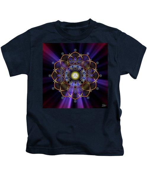 Sacred Geometry 647 Kids T-Shirt