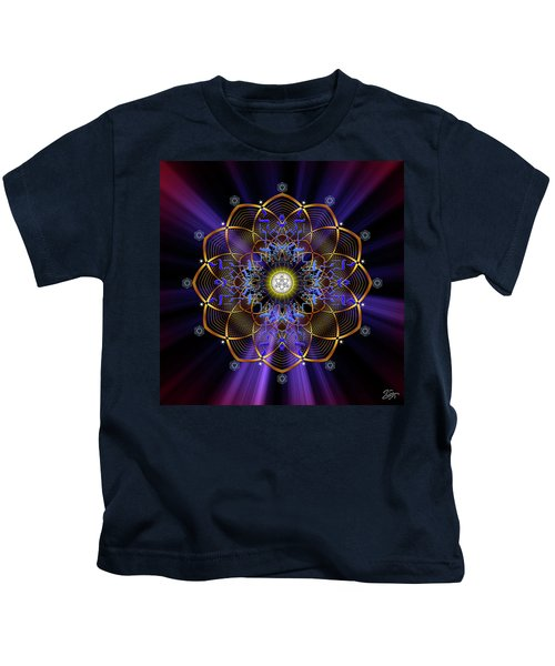 Sacred Geometry 647 Kids T-Shirt