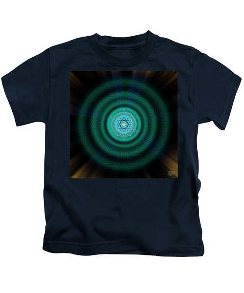 Sacred Geometry 651 Kids T-Shirt