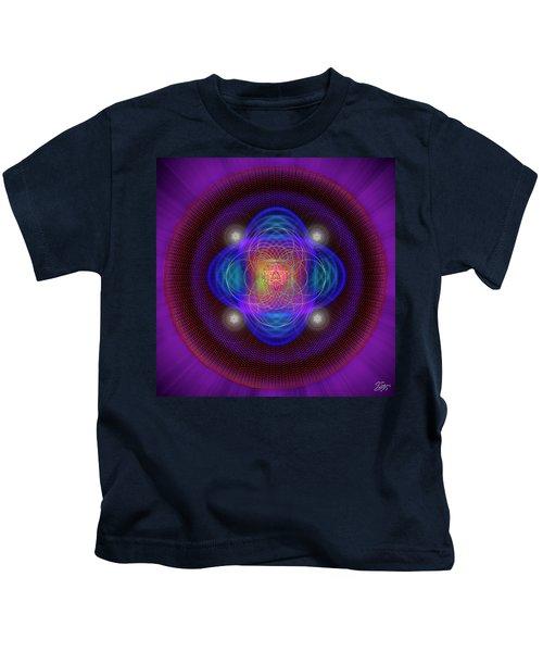 Sacred Geometry 654 Kids T-Shirt