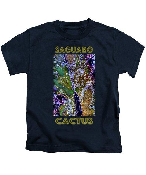 Saguaro Detail No. 9 Kids T-Shirt