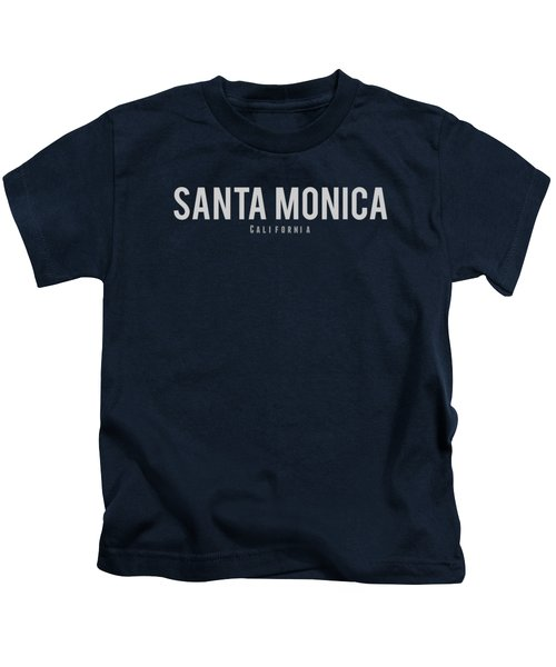 Santa Monica California Kids T-Shirt