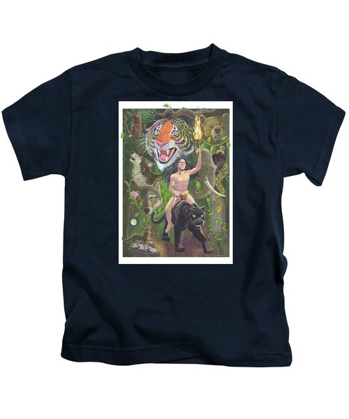Savage Kids T-Shirt by J L Meadows