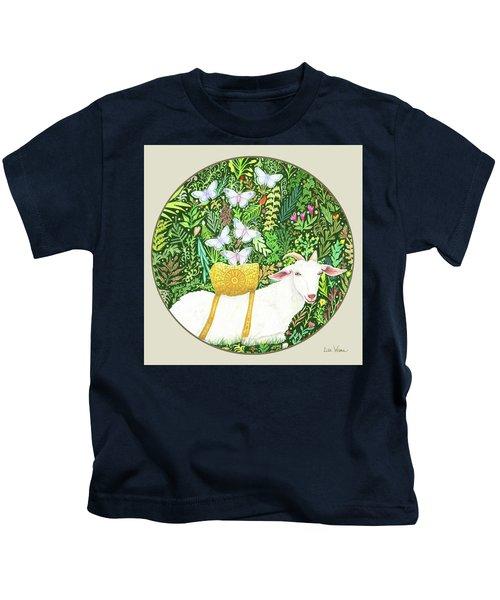 Scapegoat Button Kids T-Shirt