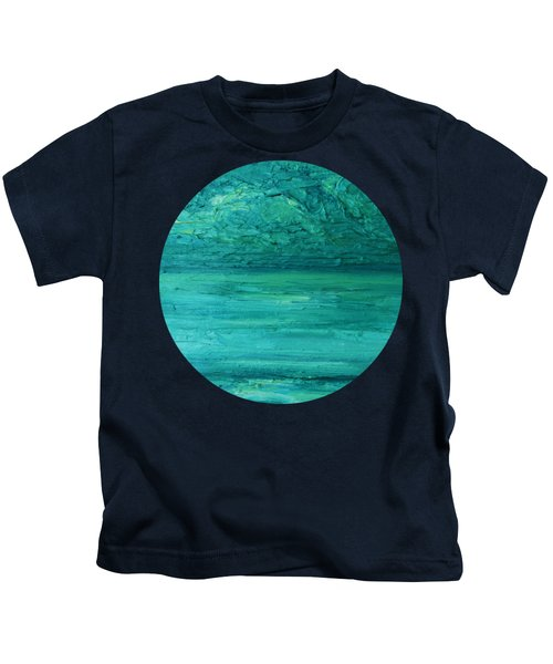 Sea Blue Kids T-Shirt