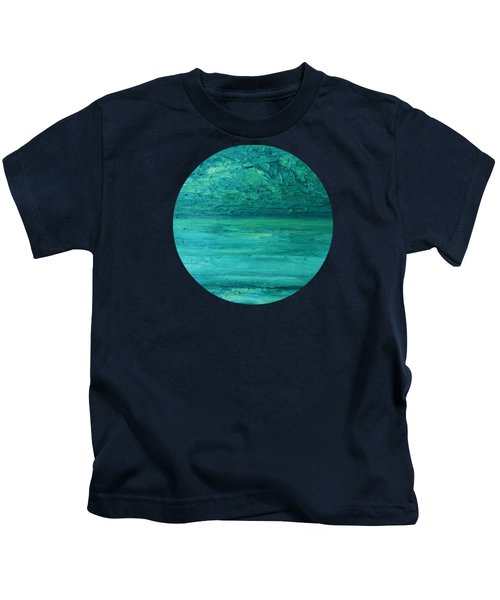 Sea Blue Kids T-Shirt