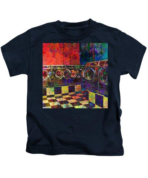 Secret Life Of Laundromats Kids T-Shirt