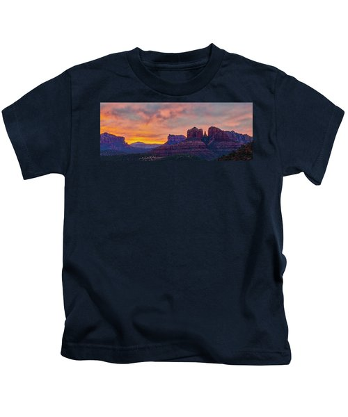 Sedona Sunrise Kids T-Shirt