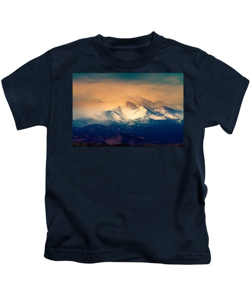 She'll Be Coming Around The Mountain Kids T-Shirt