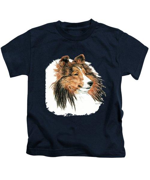 Shetland Sheepdog, Sheltie Sable Kids T-Shirt