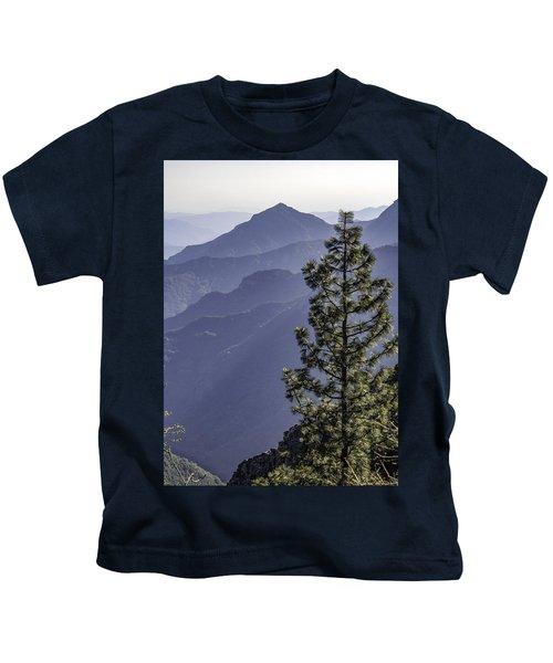 Sierra Nevada Foothills Kids T-Shirt