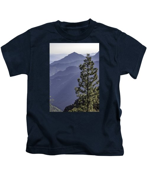 Sierra Nevada Foothills Kids T-Shirt