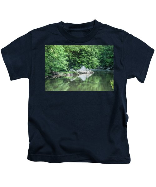 Slippery Rock Gorge - 1891 Kids T-Shirt