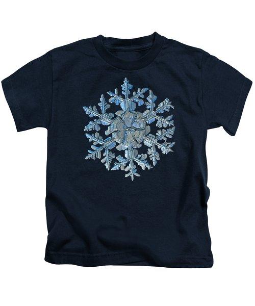 Snowflake Photo - Gardener's Dream Kids T-Shirt
