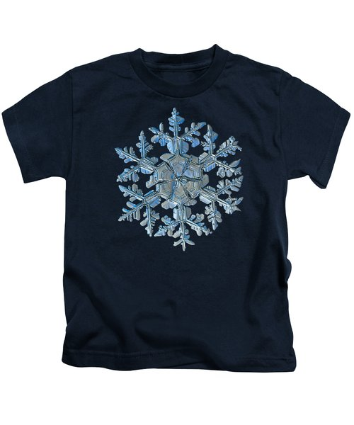 Snowflake Photo - Gardener's Dream Kids T-Shirt