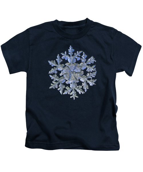 Snowflake Photo - Gardener's Dream Alternate Kids T-Shirt