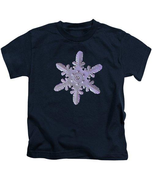 Snowflake Photo - Heart-powered Star Kids T-Shirt