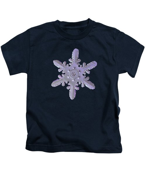 Snowflake Photo - Heart-powered Star Kids T-Shirt
