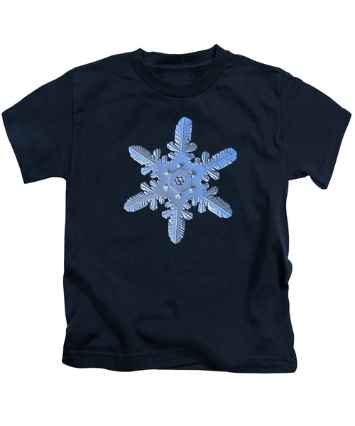 Snowflake Photo - Heart-powered Star Alternate Kids T-Shirt