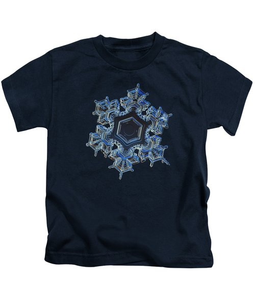 Snowflake Photo - Spark Kids T-Shirt