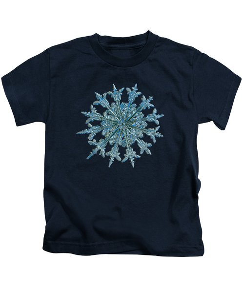 Snowflake Photo - Twelve Months Kids T-Shirt