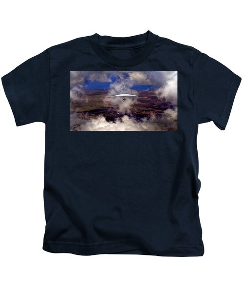Soaring Through The Clouds Kids T-Shirt
