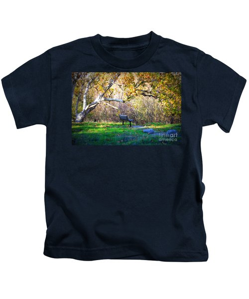Solitude Under The Sycamore Kids T-Shirt