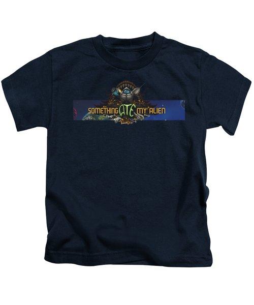 Something Ate My Alien #3 Kids T-Shirt