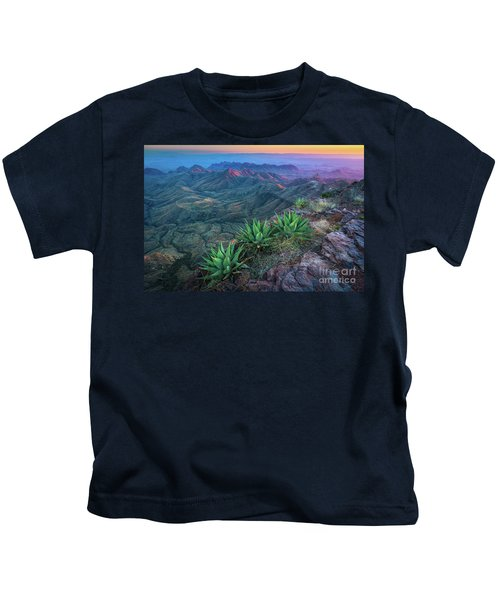 South Rim Sunset Kids T-Shirt