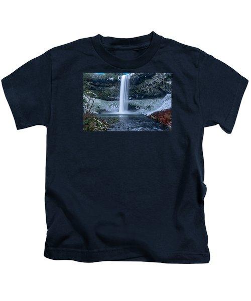 South Silver Falls Kids T-Shirt