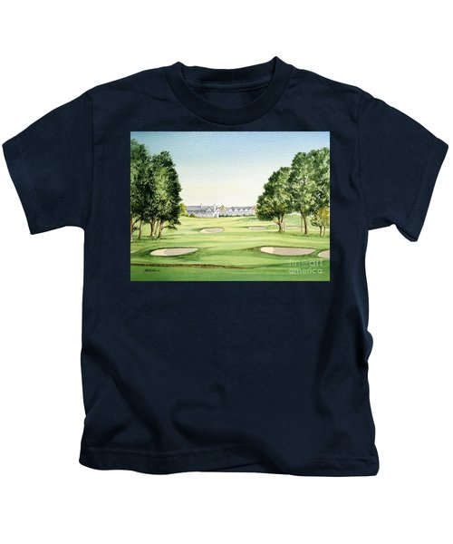 Southern Hills Golf Course 18th Hole Kids T-Shirt