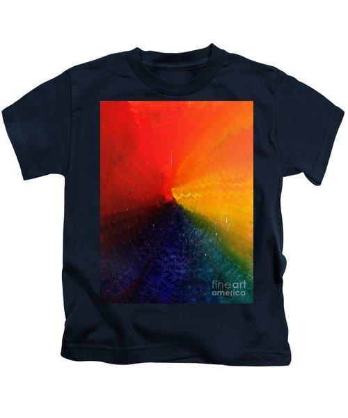 Spectral Spiral  Kids T-Shirt