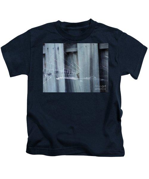 Spider Web Kids T-Shirt