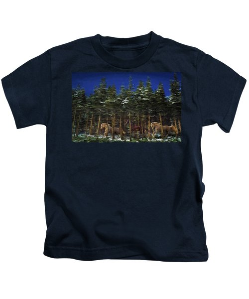 Spirits Of The Forest Kids T-Shirt