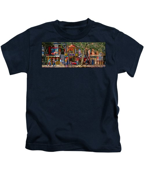 St Marks Place Kids T-Shirt