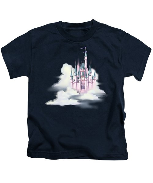 Star Castle In The Clouds Kids T-Shirt