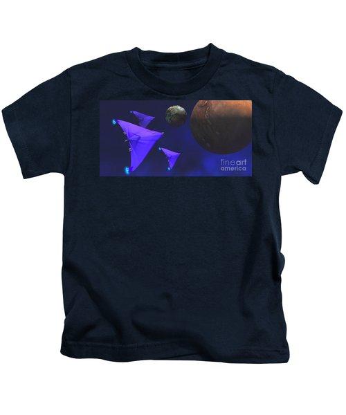 Starship Travel Kids T-Shirt