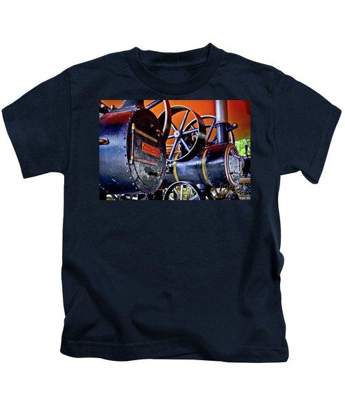Steam Engines - Locomobiles Kids T-Shirt
