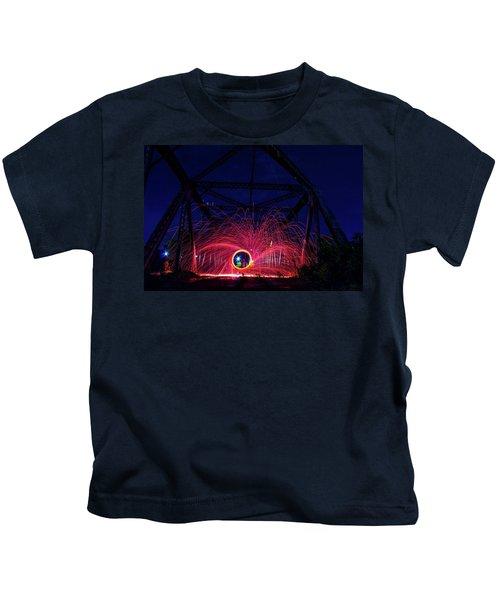 Steel Wool Spinner Kids T-Shirt