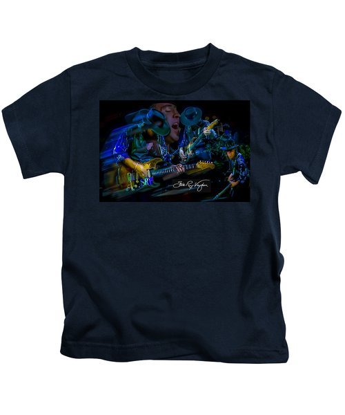 Stevie Ray Vaughan - Double Trouble Kids T-Shirt