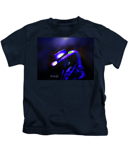 Stevie Ray Vaughan -  Superstition  Kids T-Shirt
