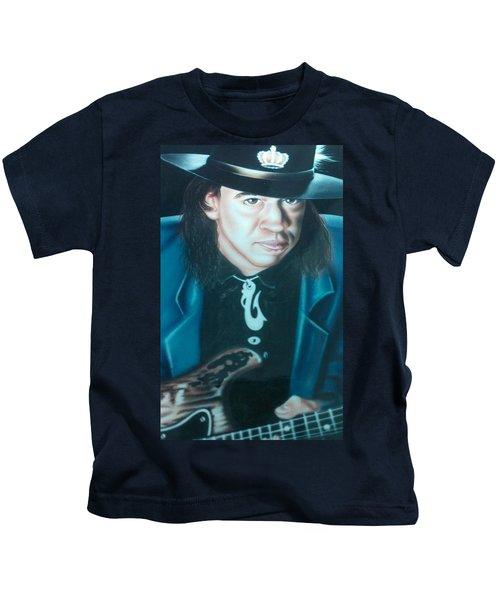 Stevie Ray Vaughn Kids T-Shirt