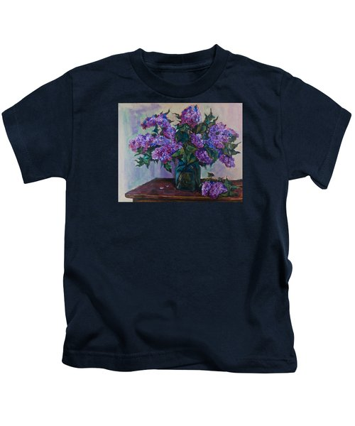 Still Life With Lilac  Kids T-Shirt