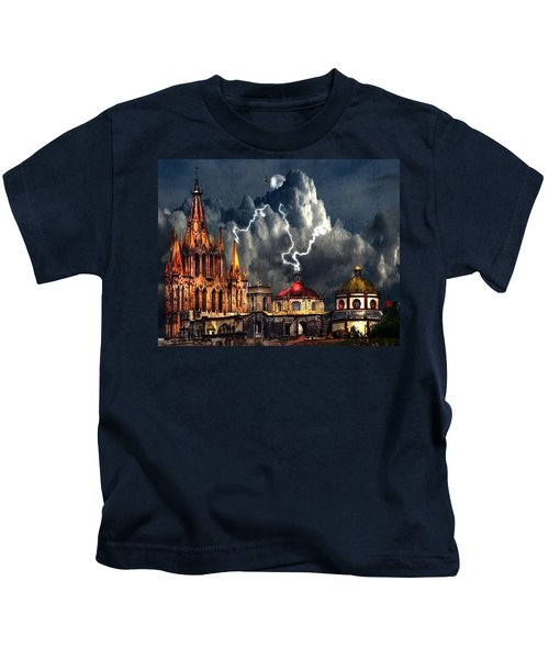 Stormy Night Kids T-Shirt