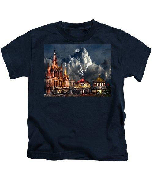 Stormy Night Kids T-Shirt