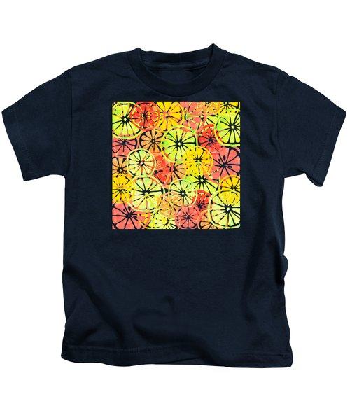 Summer Lemons Kids T-Shirt
