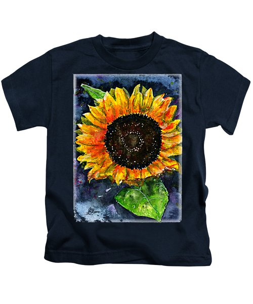 Sunflower Shirt Kids T-Shirt