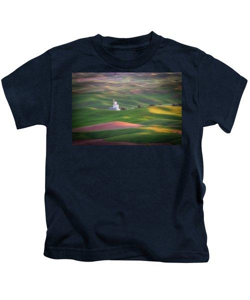 Sunrise From Steptoe Butte. Kids T-Shirt