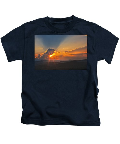 Sunset - Close Another Day Kids T-Shirt