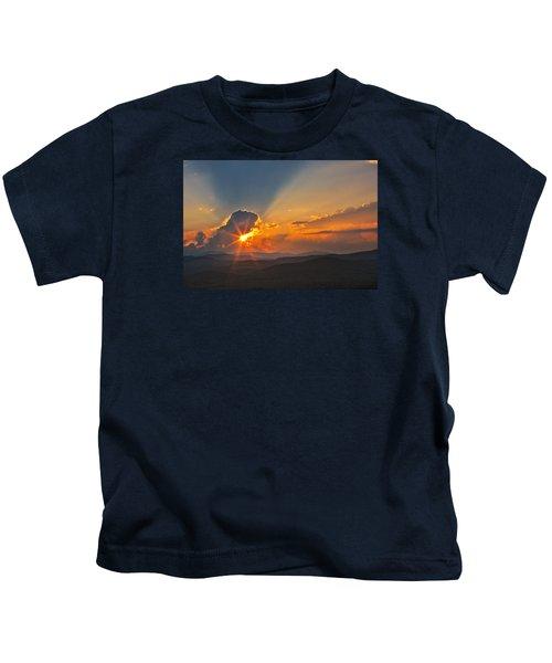 Sunset - Close Another Day Kids T-Shirt